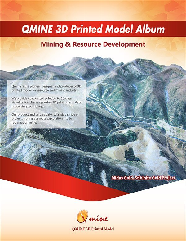 qmine 3D printed model online-catalogue-first-page