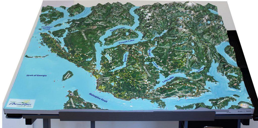 custom 3d map