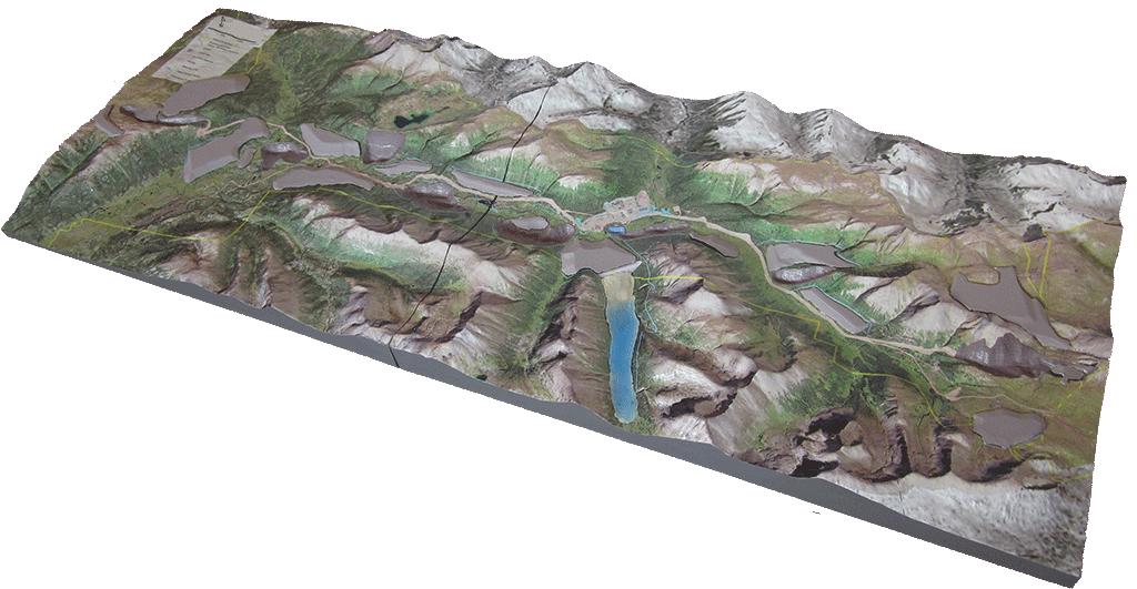 qmine 3d mine model-chihong-mining