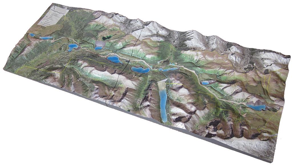 qmine 3d mine model-chihong-reclamation